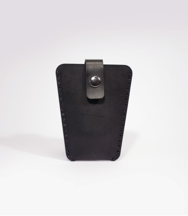 Key Case In Black Leather Handmade In The UK by Lost Kind®